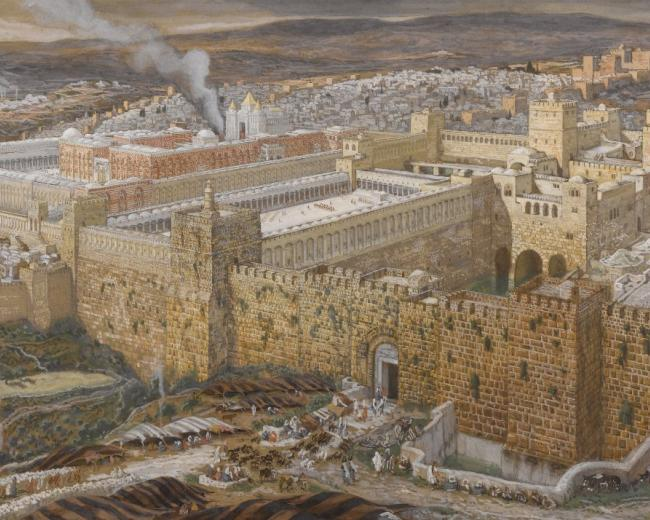 Old image of Jerusalem used in The Bible Comes to Life a key educational ministry of CMJ UK